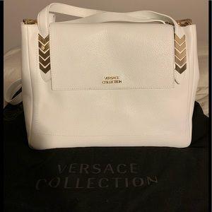 Women's Leather Versace Collection Handbag.